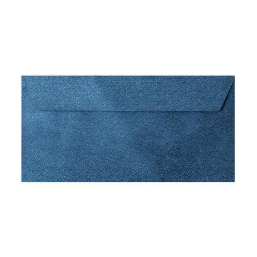 DL Royal Blue Textured 120gsm Peel & Seal Envelopes [Qty 250] 110 x 220mm