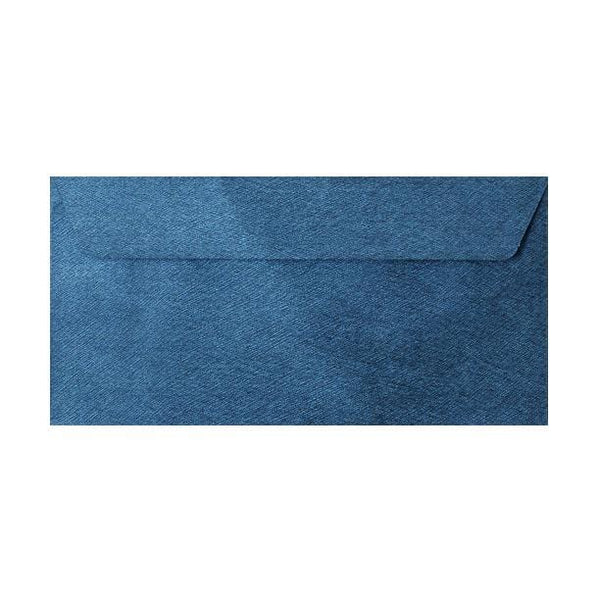 DL Royal Blue Textured 120gsm Peel & Seal Envelopes [Qty 250] 110 x 220mm (2131082772569)