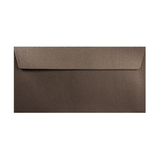 DL Pearlescent Bronze 120gsm Peel & Seal Envelopes [Qty 250] 110 x 220mm