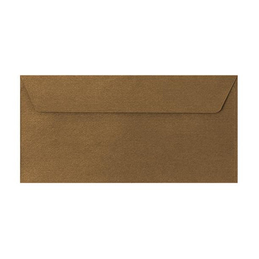 DL Bronze Textured 120gsm Peel & Seal Envelopes [Qty 250] 110 x 220mm