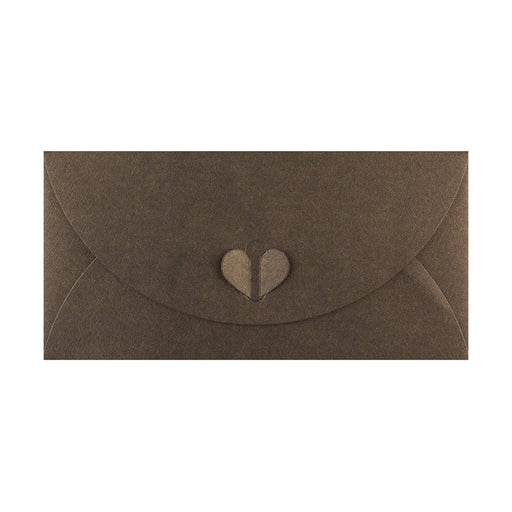 DL Bronze Butterfly Envelopes [Qty 50] 110 x 220mm