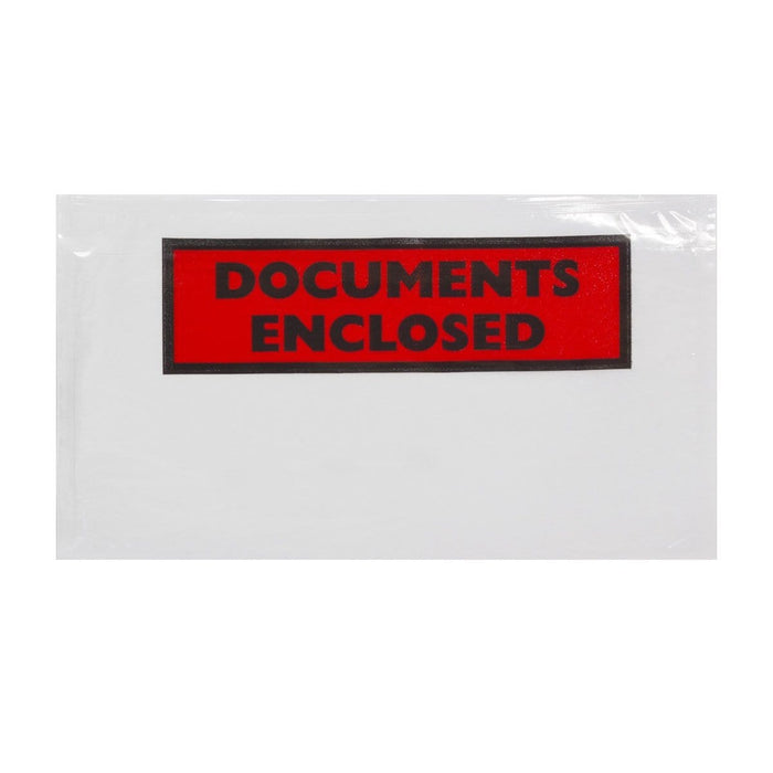 DL Documents Enclosed Envelopes [Qty 1,000] 110 x 220mm
