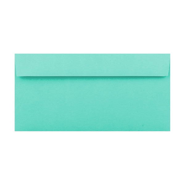 DL Duck Egg Blue 120gsm Peel & Seal Envelopes [Qty 500] 110mm x 220mm