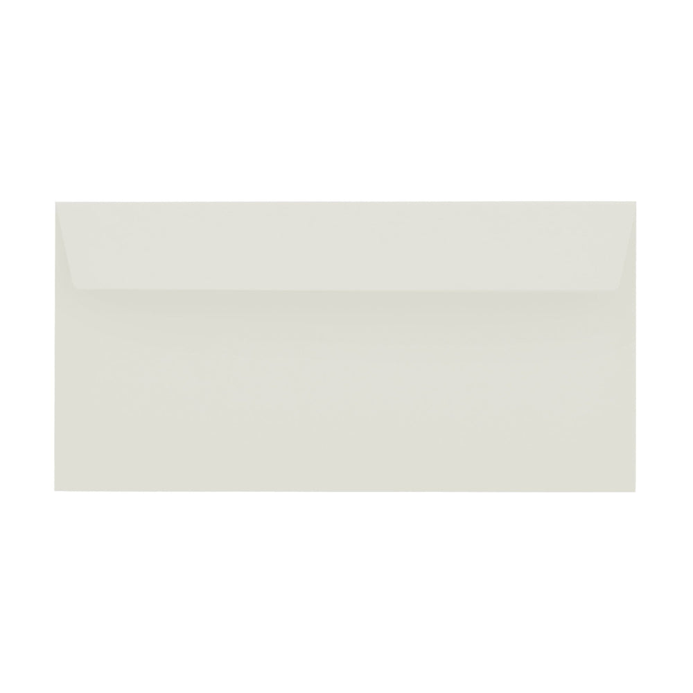 DL French Grey 120gsm Peel & Seal Envelopes [Qty 500] 114 x 229mm (2131250610265)