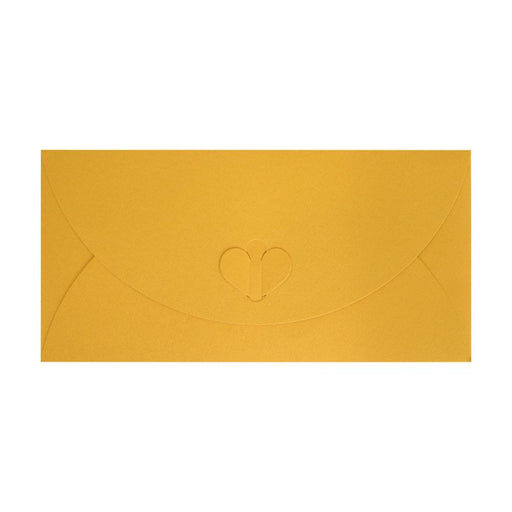 DL Golden Butterfly Envelopes [Qty 50] 110 x 220mm
