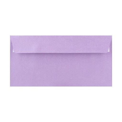 DL Lilac Textured 120gsm Peel & Seal Envelopes [Qty 250] 110 x 220mm