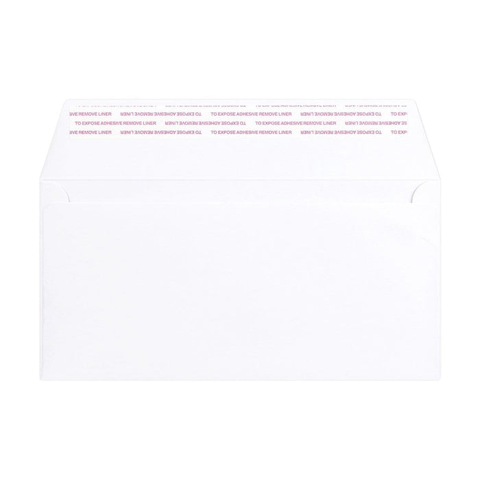 DL White Luxury Wallet 180gsm Peel & Seal Envelopes [Qty 250] 110 x 220mm
