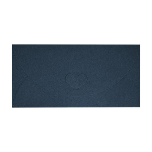 DL Navy Blue Butterfly Envelopes [Qty 50] 110 x 220mm