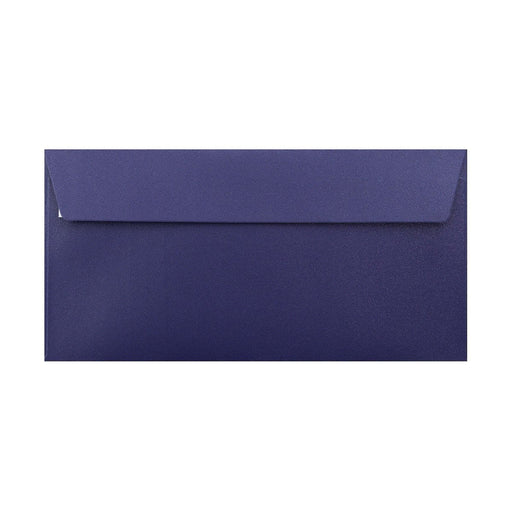 DL Pearlescent Midnight Blue 120gsm Peel & Seal Envelopes [Qty 250] 110 x 220mm