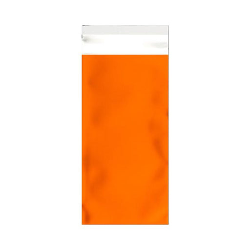DL Matt Orange Metallic Foil Bags [Qty 250] 220 x 110mm