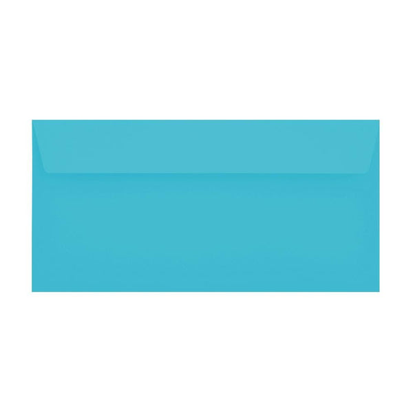 DL Pacific Blue 120gsm Peel & Seal Envelopes [Qty 500] 114 x 229mm (2131094896729)