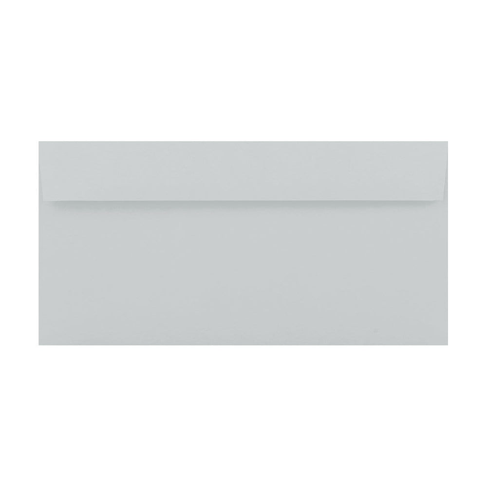 DL Pale Grey 120gsm Peel & Seal Envelopes [Qty 500] 110mm x 220mm (2131414974553)