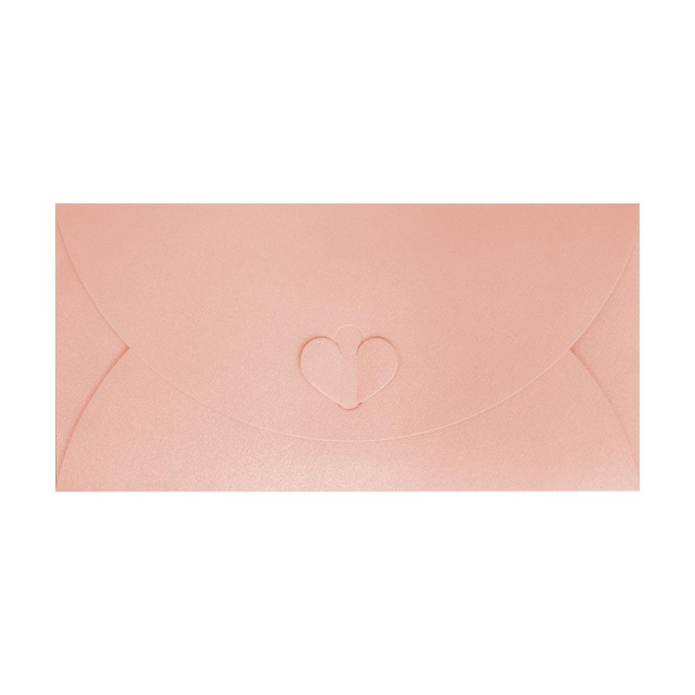 DL Pink Butterfly Envelopes [Qty 50] 110 x 220mm