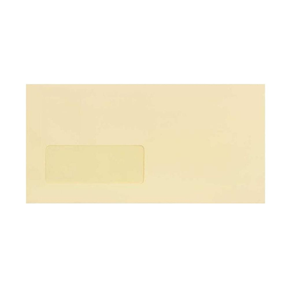 DL Premium Antique Window 120gsm Peel & Seal Envelopes [Qty 500] 110 x 220mm (2131278004313)