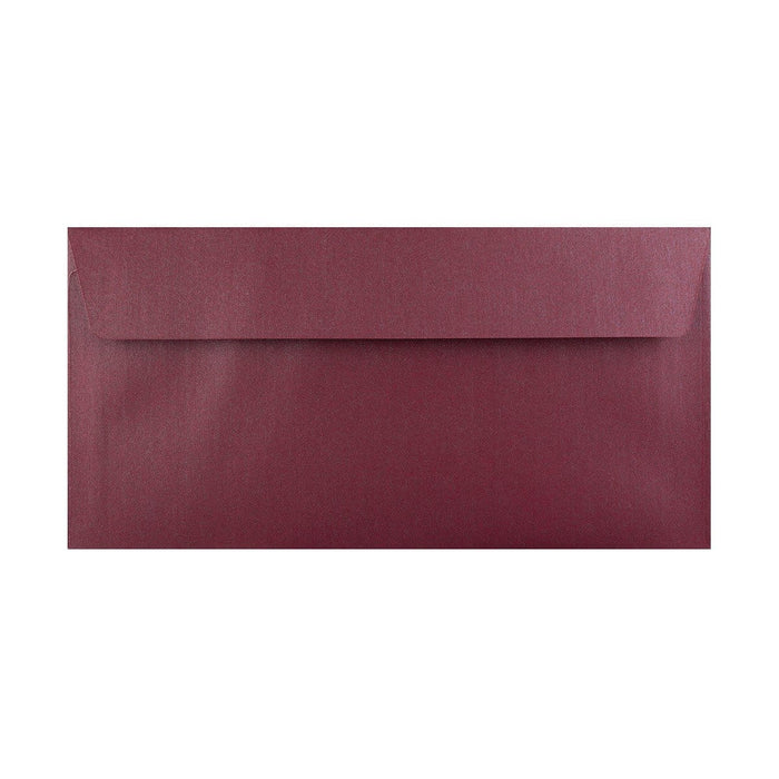 DL Pearlescent Purple 120gsm Peel & Seal Envelopes [Qty 250] 110 x 220mm (2131257229401)