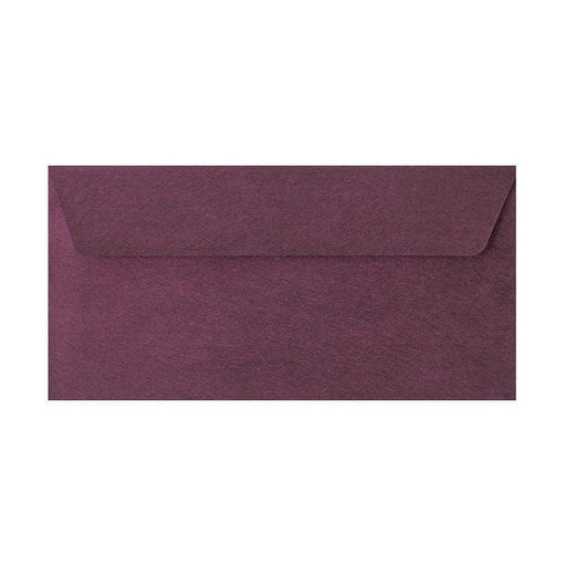 DL Purple Textured 120gsm Peel & Seal Envelopes [Qty 250] 110 x 220mm