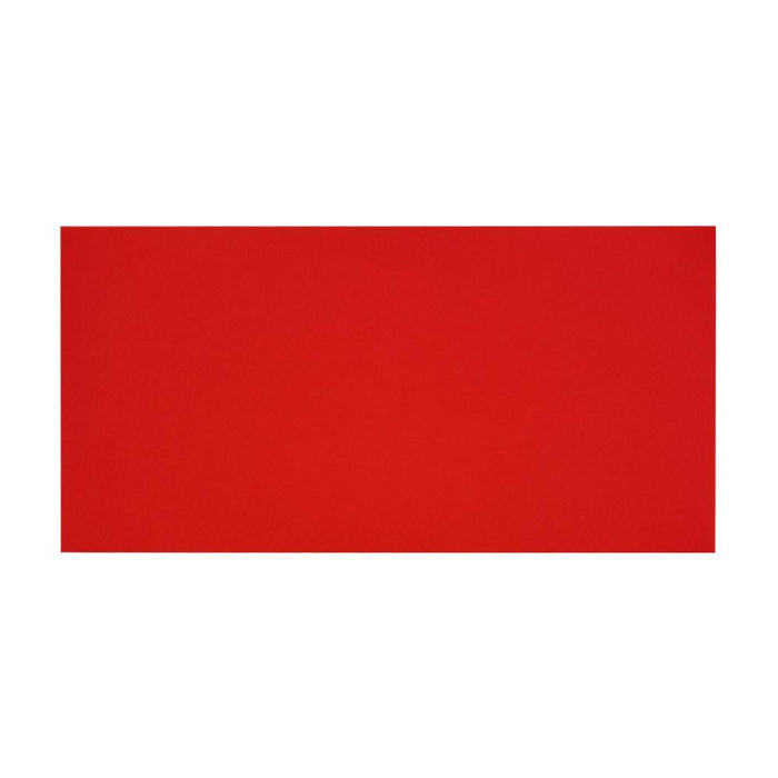 DL Pillar Box Red 120gsm Peel & Seal Envelopes [Qty 500] 110 x 220mm
