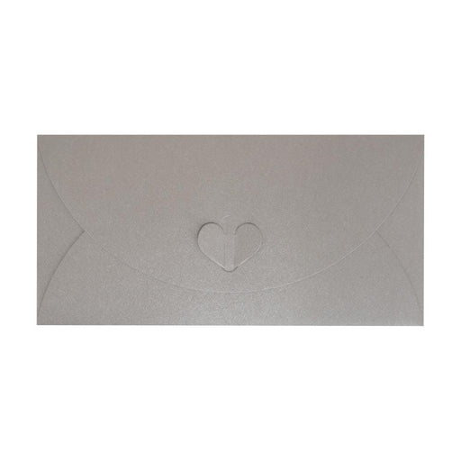 DL Silver Butterfly Envelopes [Qty 50] 110 x 220mm