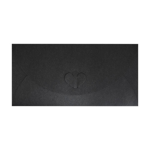 DL Slate Black Butterfly Envelopes [Qty 50] 110 x 220mm