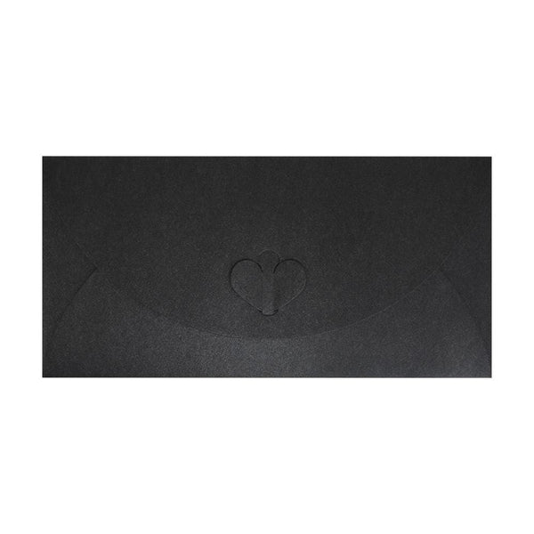 DL Slate Black Butterfly Envelopes [Qty 50] 110 x 220mm (2131342229593)
