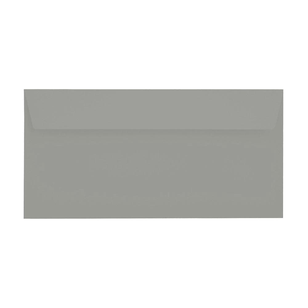 DL Storm Grey 120gsm Peel & Seal Envelopes [Qty 500] 114 x 229mm (2131382042713)