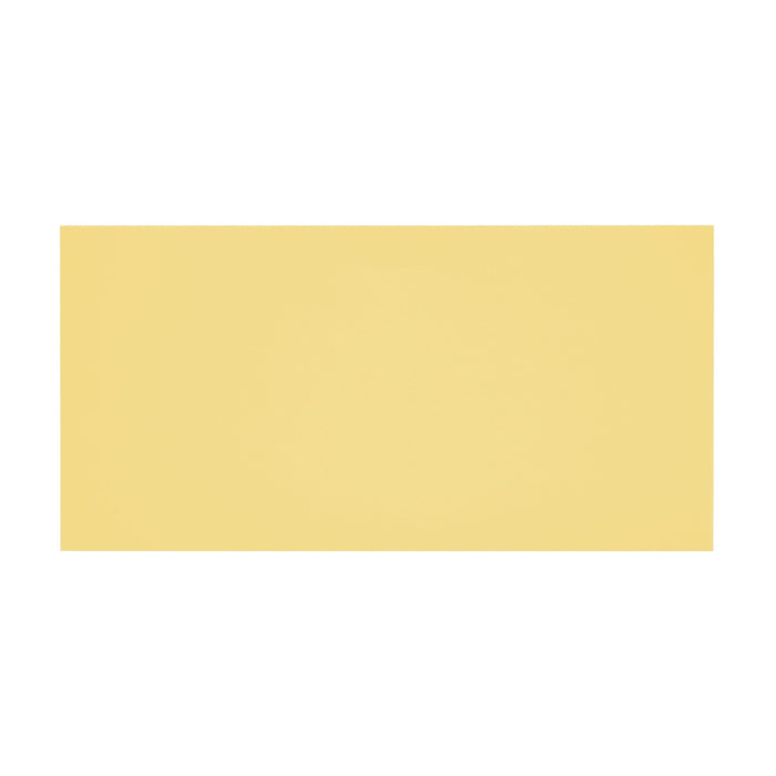 DL Sunlight Yellow 120gsm Peel & Seal Envelopes [Qty 500] 114 x 229mm (2131250282585)