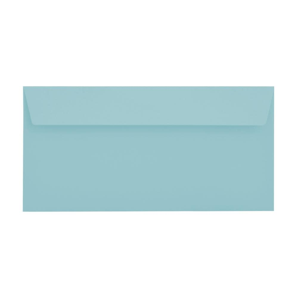 DL Wedgewood Blue 120gsm Peel & Seal Envelopes [Qty 500] 114 x 229mm