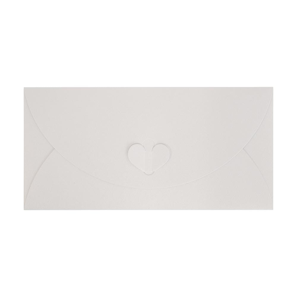 DL White Butterfly Envelopes [Qty 50] 110 x 220mm (2131342032985)