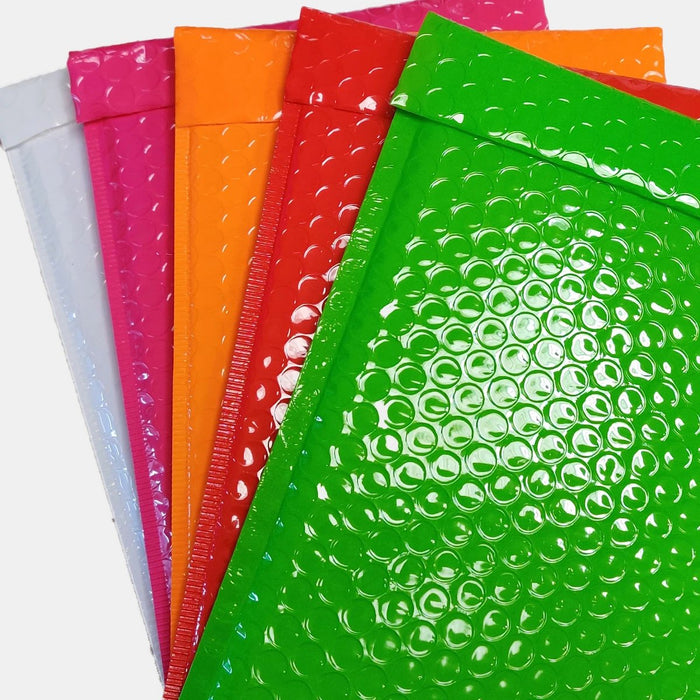 C5 Gloss Bubble Bag Multi-Box [Qty 100] 162 x 229mm (4490021732441) (4490202546265)