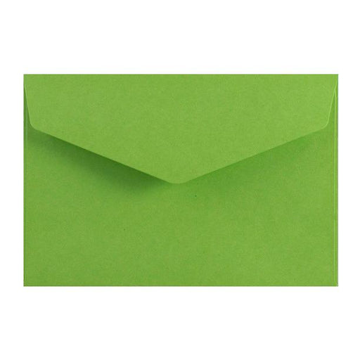 Green Business Card Envelopes 120gsm Peel & Seal [Qty 250] 62 x 94mm