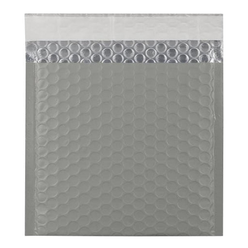165 x 165 Grey Matt Padded Bubble Envelopes [Qty 100] (2131350749273)