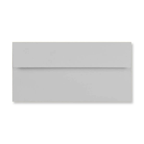 DL Conqueror Grey 120gsm Laid Peel & Seal Wallet Envelopes [Qty 500] 110 x 220mm (4424010465369)