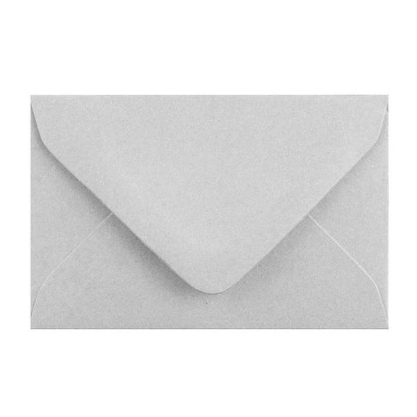 Grey Business Card Envelopes 120gsm [Qty 250] 62 x 94mm