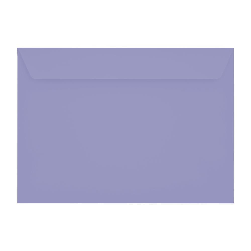 C4 Deep Lavender 120gsm Peel & Seal Envelopes [Qty 250] 229 x 324mm