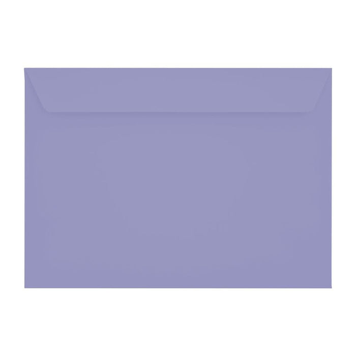 C5 Deep Lavender 120gsm Peel & Seal Envelopes [Qty 250] 162 x 229mm (2131096666201)