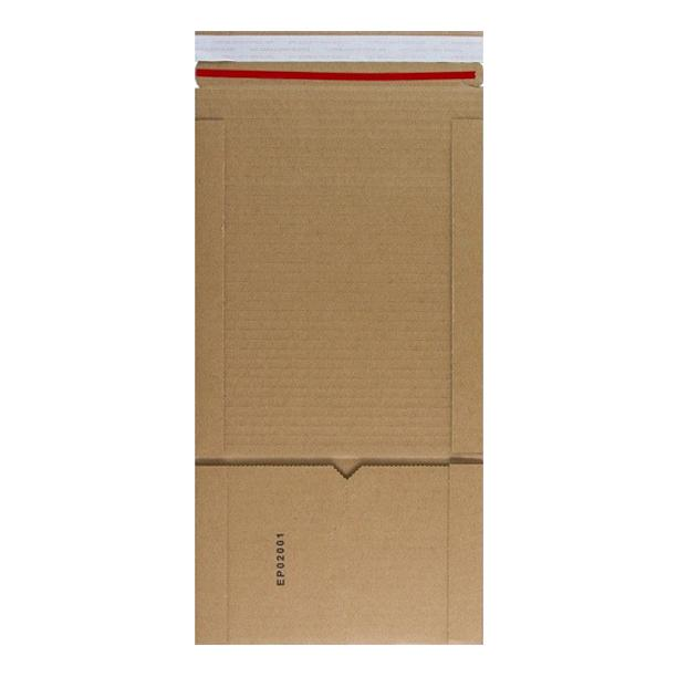 Manilla Book Wraps 147 x 126 x 55mm [Qty 100] (2131329908825)