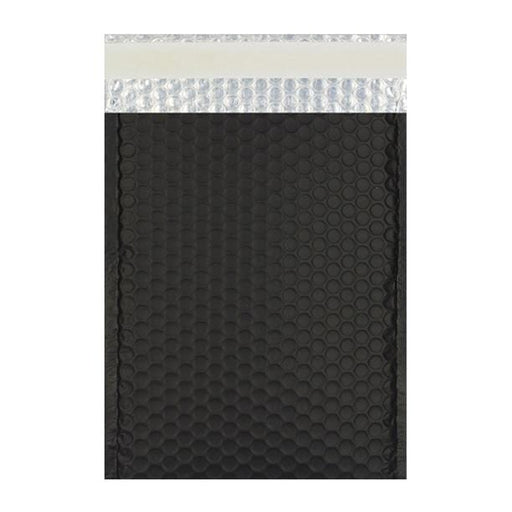 C4 Matt Black Padded Bubble Envelopes [Qty 100] 230mm x 324mm