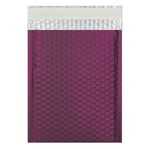 C4 Matt Burgundy Padded Bubble Envelopes [Qty 100] 230mm x 324mm