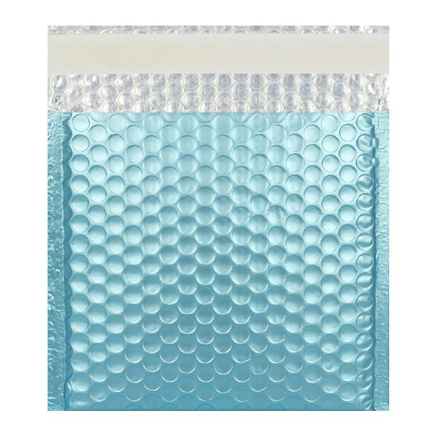 165 x 165 Matt Ice Blue Padded Bubble Envelopes [Qty 100] (2131220463705)