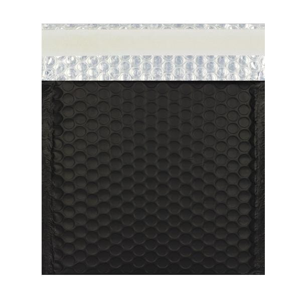 230 x 230 Matt Black Padded Bubble Envelopes [Qty 100] (2131321815129)