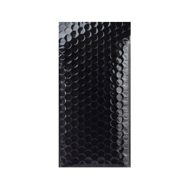 100 x 180 Metallic Black Padded Envelopes [Qty 100] (2131346522201)