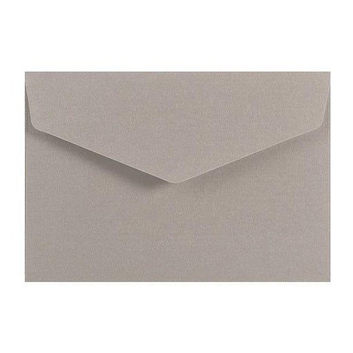 Silver Business Card Envelopes 120gsm Peel & Seal [Qty 250] 62 x 94mm