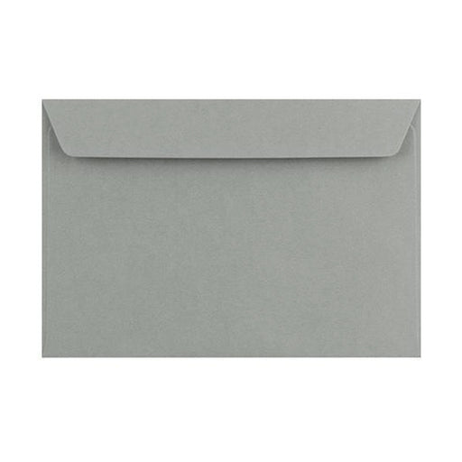 C6 Storm Grey 120gsm Peel & Seal Envelopes [Qty 250] 114 x 162mm
