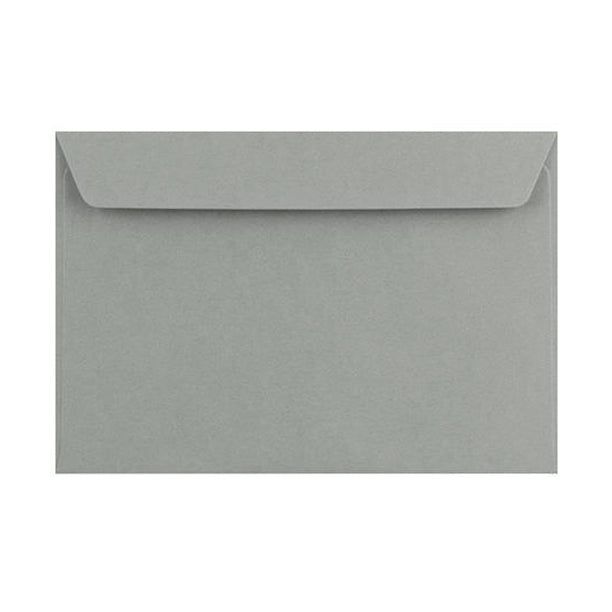 C6 Storm Grey 120gsm Peel & Seal Envelopes [Qty 250] 114 x 162mm (4457214247001)