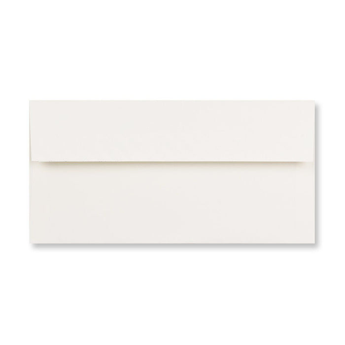 DL Conqueror Oyster White 120gsm CX22 Peel & Seal Wallet Envelopes [Qty 500] 110 x 220mm