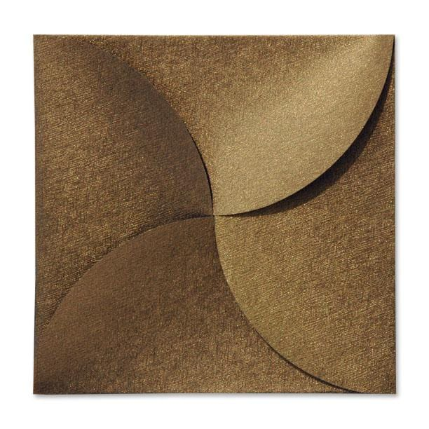 Bronze Petal Fold Pochette Envelopes [Qty 100] (2131291406425)