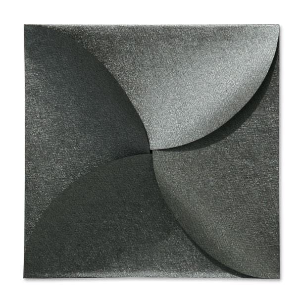 Charcoal Petal Fold Pochette Envelopes [Qty 100] (2131313197145)