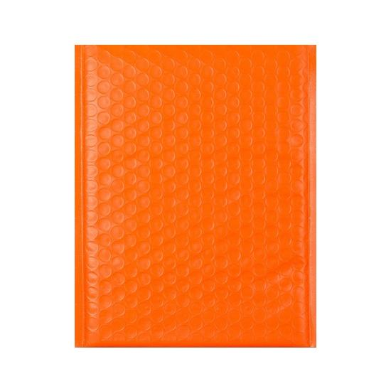 C5+ Poly Matt Orange Padded Bubble Envelopes [Qty 100] 180mm x 250mm (2131345801305)