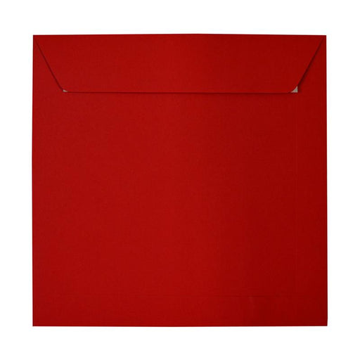 280 x 280mm Square Crimson Red Peel & Seal Envelopes [Qty 250] (2131305037913)