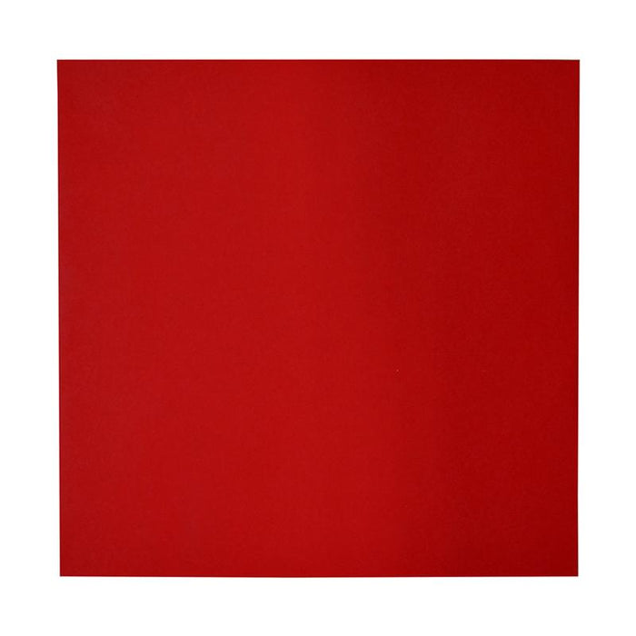 230 x 230 Square Red Peel & Seal Envelopes [Qty 250]